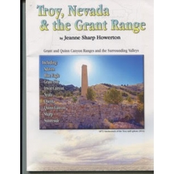 Troy, Nevada and the Grant Range by Jeanne Sharp Howerton